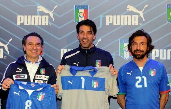Presentazione divisa Italia Confederations Cup 2013