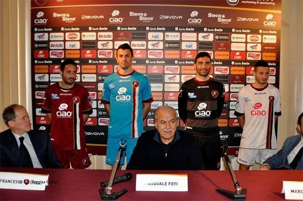 Ciao sponsor Reggina Calcio