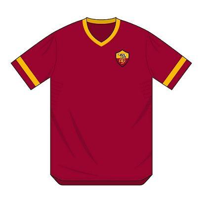 Prima maglia Roma proposta da Sergio Scala