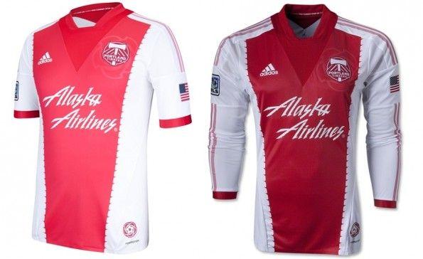 Alternate jersey dei Portland Timbers per il 2013