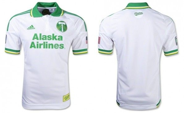 Terza maglia dei Portland Timbers 2012-2013