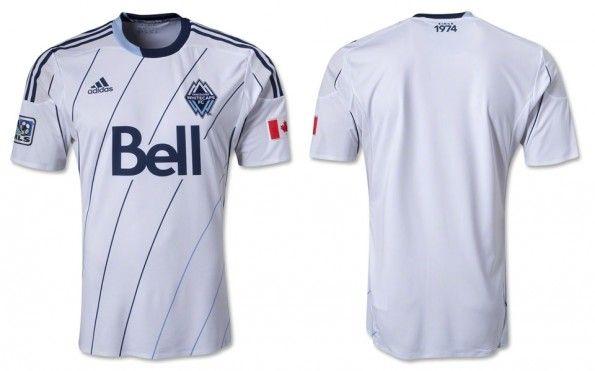 Prima maglia Vancouver Whitecaps 2013 adidas