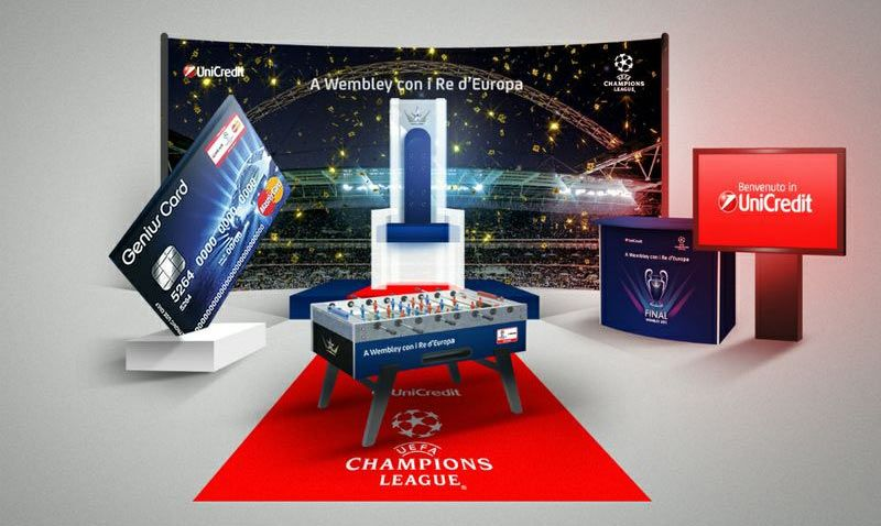 Unicredit a Wembley con i Re d'Europa