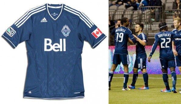 Vancouver Whitecaps seconda maglia 2012-2013 adidas