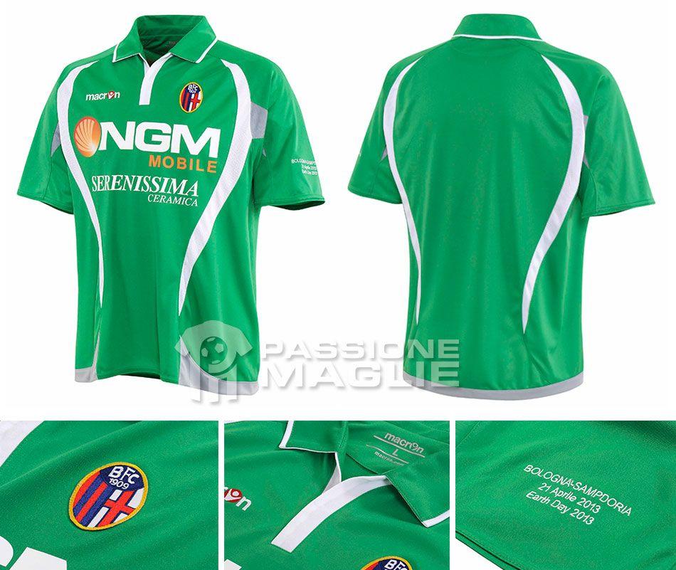 Maglia Bologna verde Giornata della Terra