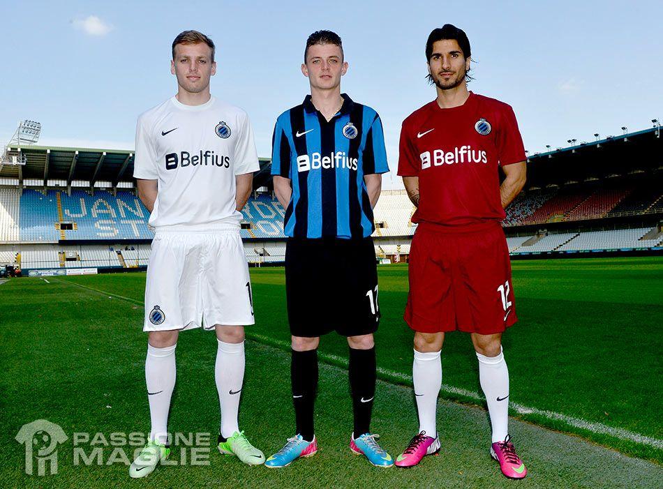 Divise Bruges 2013-2014 Nike