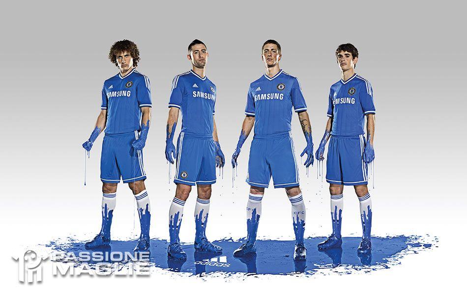 Chelsea home kit 2013-2014
