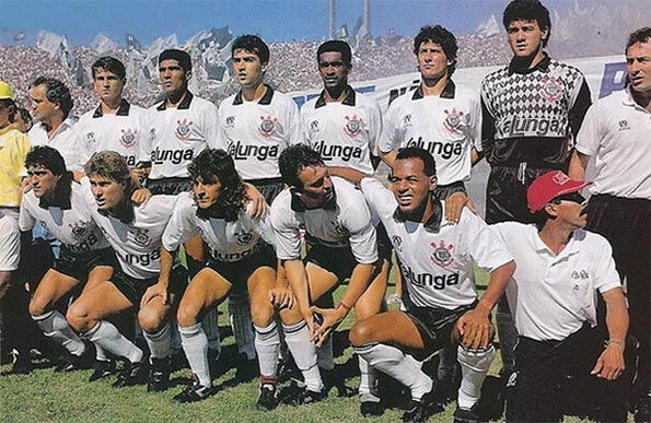 Squadra del Corinthians nel 1990