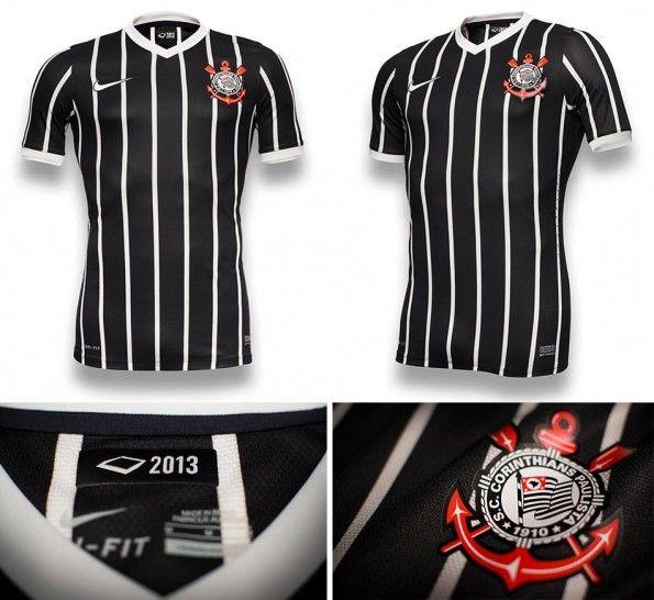Corinthians seconda maglia trasferta 2013