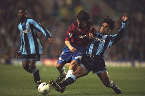 Coventry City Chelsea 1997 Zola