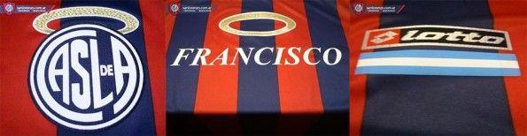 Particolari maglia speciale Papa San Lorenzo