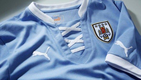 Colletto maglia Uruguay Puma 2013