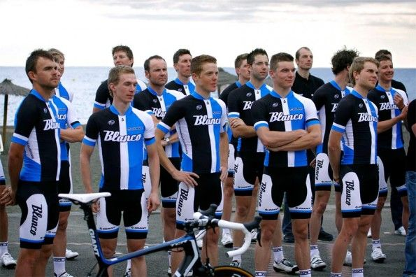 La divisa della Blanco Pro Cycling