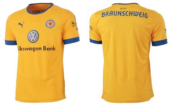maglia Eintracht Braunschweig 2012-2013