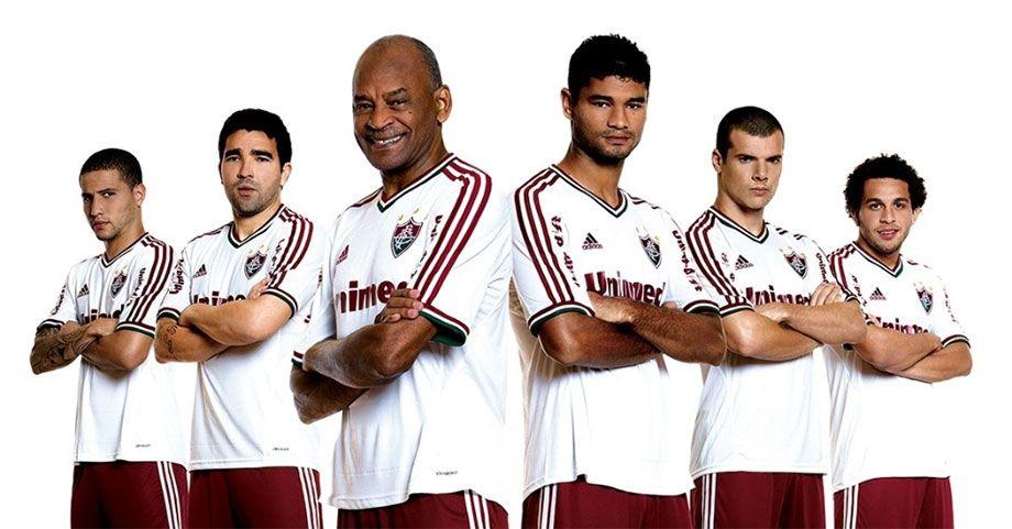 Kit away Fluminense 2013 adidas