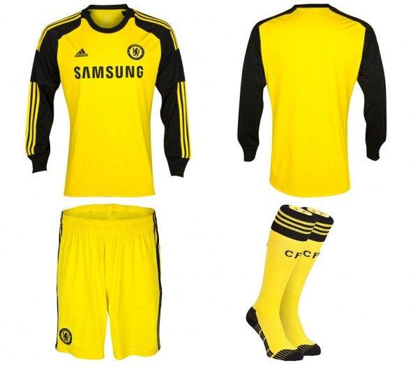 Divisa portiere Chelsea 2013-2014 adidas
