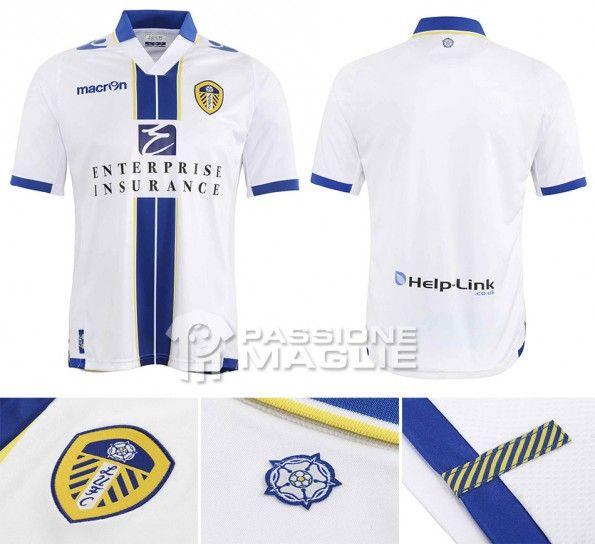 Leeds maglia home 2013-2014 Macron