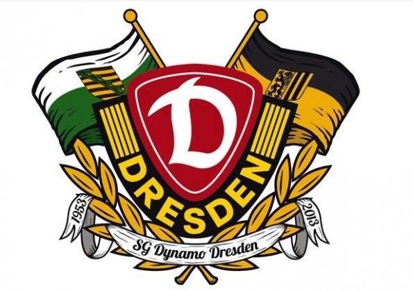 Stemma celebrativo dei 60 anni della Dynamo Dresda