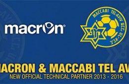 Macron sponsor tecnico Maccabi Tel Aviv