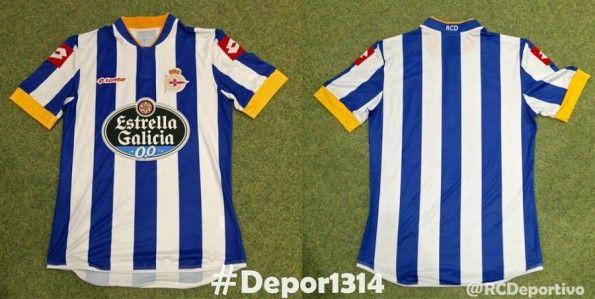 Prima Maglia Deportivo La Coruna 2013-2014