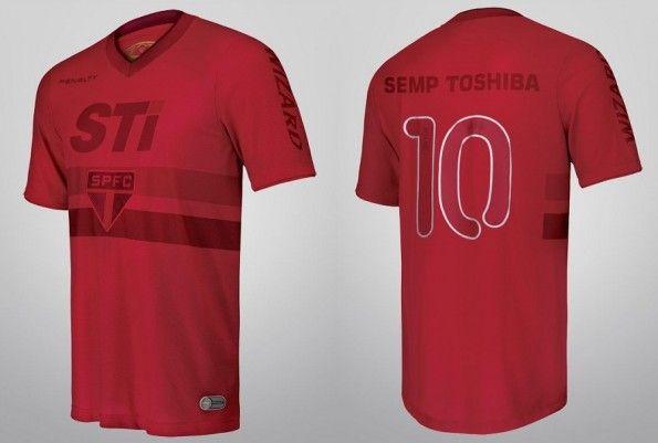 La maglia speciale rossa del San Paolo 2013