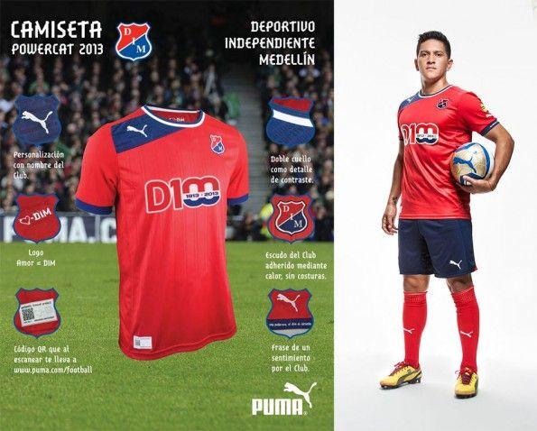 Deportivo Medellin maglia home 2013 Puma