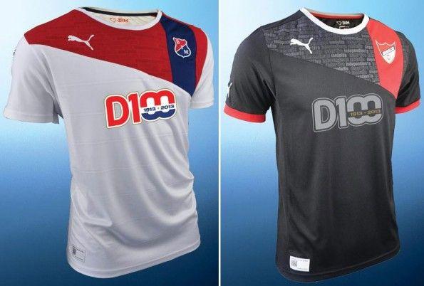 Deportivo Medellin maglia away third 2013