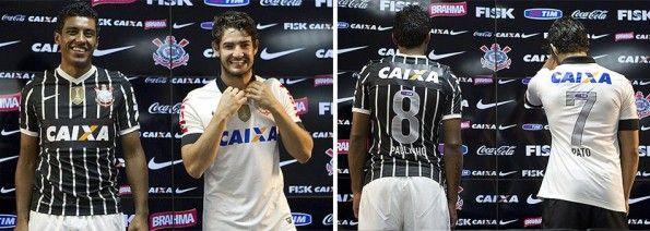 Presentazione divise Corinthians 2013 Nike