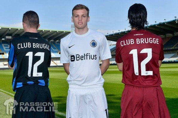 Retro maglie Bruges 2013-2014 Nike