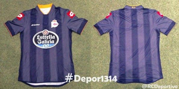 Seconda maglia Deportivo La Coruna 2013-2014