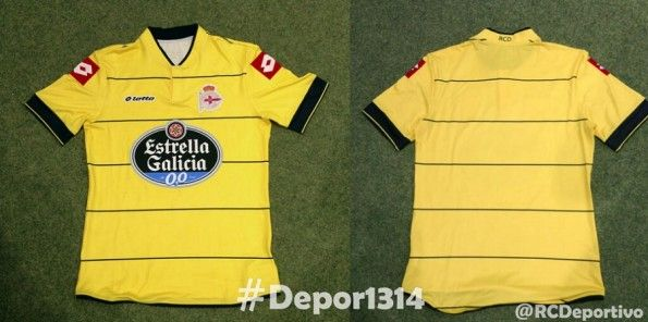 Terza maglia Deportivo La Coruna 2013-2014