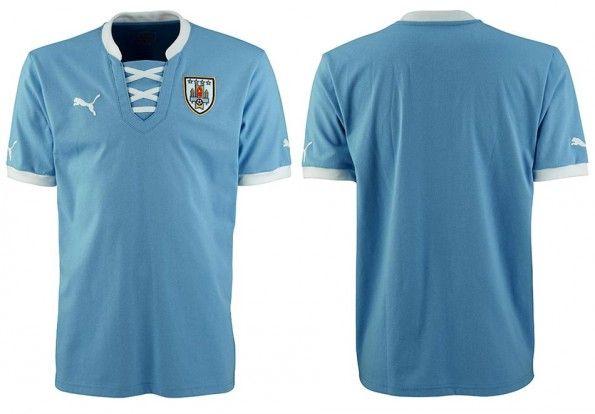Maglia Uruguay Confederations Cup 2013