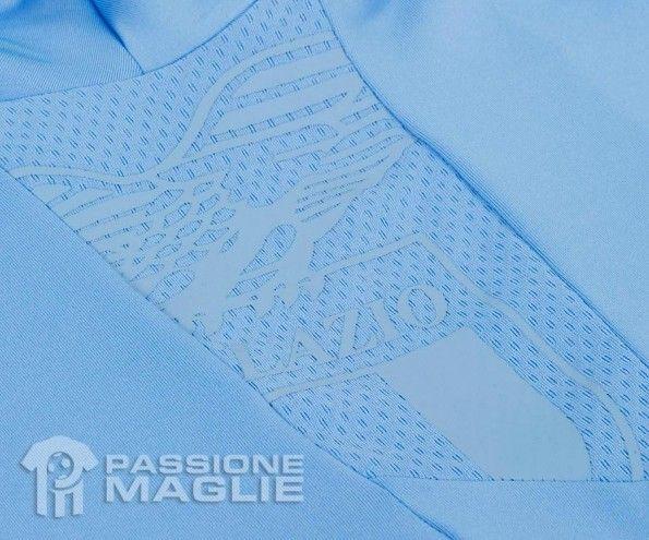 Dettaglio aquila maglia Lazio Macron