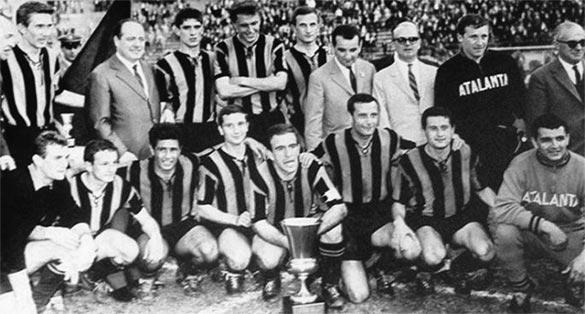 Atalanta 1963 vittoria in Coppa Italia