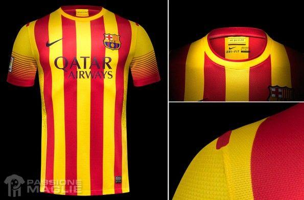 Barcellona seconda maglia 2013-14