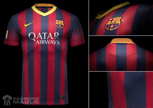 Barcellona prima maglia 2013-2014 Nike