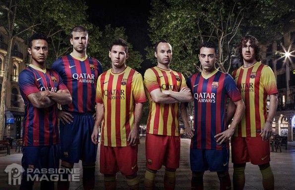 Maglie Barcellona 2013-2014 Nike