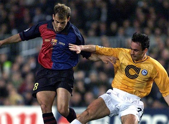 Barcellona-Hertha Champions League 1999-2000