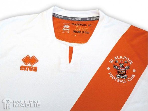 Blackpool seconda maglia 2013-2014