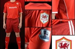 Kit Cardiff City 2013-2014 Puma