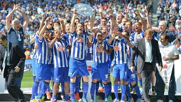 Festa Hertha vittoria in Zweite Liga 2012-13