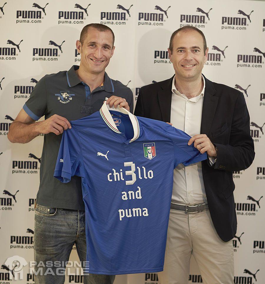 Chiellini rinnova con Puma
