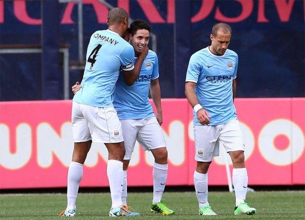 Amichevole Manchester City-Chelsea a New York