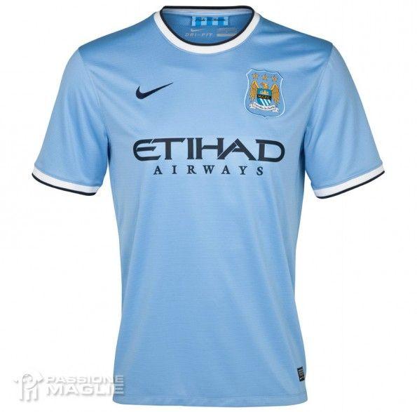 Maglia Manchester City 2013-2014 Nike