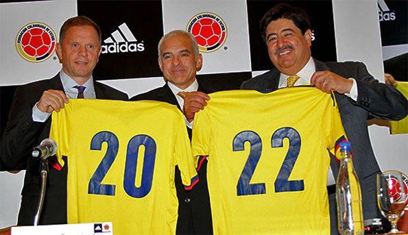 Adidas sponsor tecnico Colombia 2022