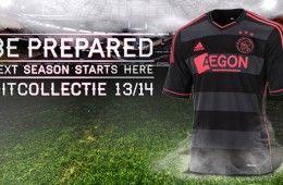 Nuova maglia da trasferta dell'Ajax 2013-14