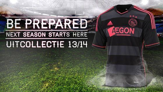 Nuova maglia da trasferta Ajax 2013-2014