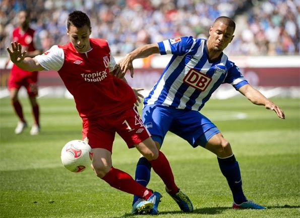 Cottbus-Hertha Berlino Zweite Bundesliga