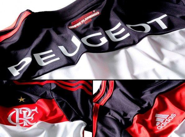 Dettagli Flamengo maglia trasferta 2013