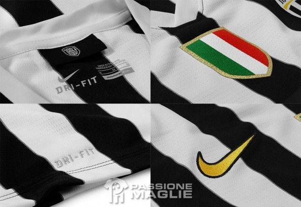 Dettagli kit replica Juventus Nike 2013-2014